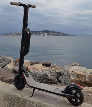 Citymate Elite 350 Watt Elektriki Scooter 8.5 inch Teker Bluetooth - Thumbnail