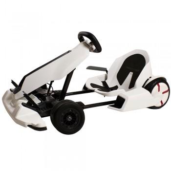 Citymate - Citymate GoKart Kit Race Car Ninebot Mini Bluetooth Beyaz