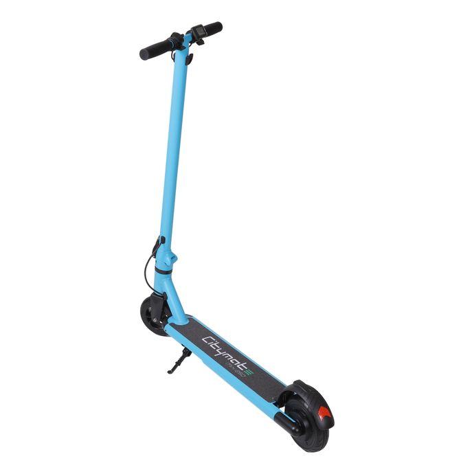 Citymate Mini 250Watt Elektrikli Scooter cocuklar icin 5.5 İnch Dolgu Teker Mavi