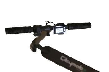 Citymate Mini 250Watt Elektrikli Scooter Cocuklar icin 5.5 inch Dolgu Teker Siyah - Thumbnail