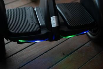 Citymate Mini Elektrikli Kaykay Hoverboard Bluetooth Beyaz - Thumbnail