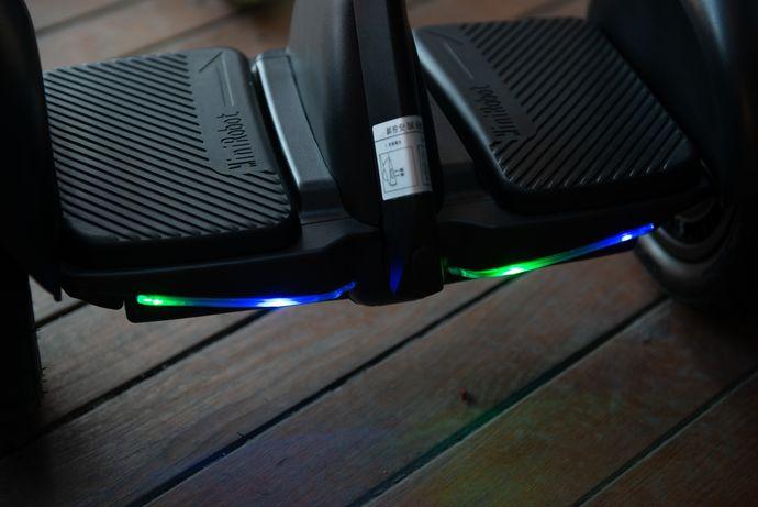 Citymate Mini Elektrikli Kaykay Hoverboard Bluetooth Beyaz