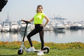 Citymate Plus 250Watt Elektrikli Scooter 8.5 inch Teker Bluetooth Beyaz - Thumbnail
