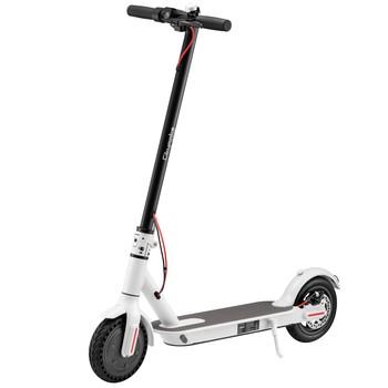 Citymate - Citymate Plus 250Watt Elektrikli Scooter 8.5 inch Teker Bluetooth Beyaz