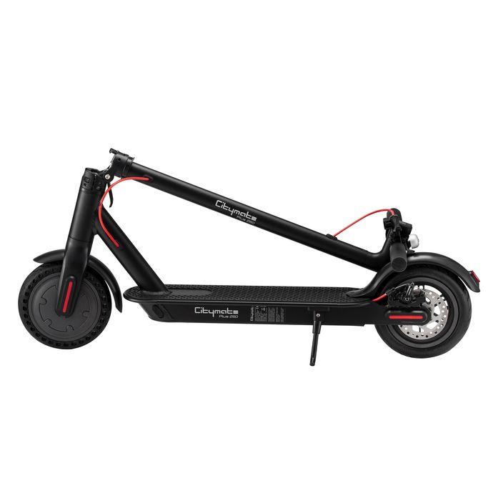 Citymate Plus 250Watt Elektrikli Scooter 8.5 inch Teker Bluetooth Siyah