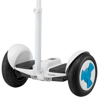 Citymate - Citymate Plus Elektrikli Kaykay Cubuklu Hoverboard Bluetooth Beyaz