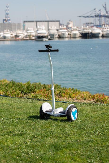 Citymate Plus Elektrikli Kaykay Cubuklu Hoverboard Bluetooth Siyah
