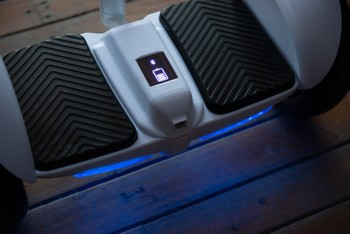 Citymate Plus Elektrikli Kaykay Cubuklu Hoverboard Bluetooth Siyah - Thumbnail