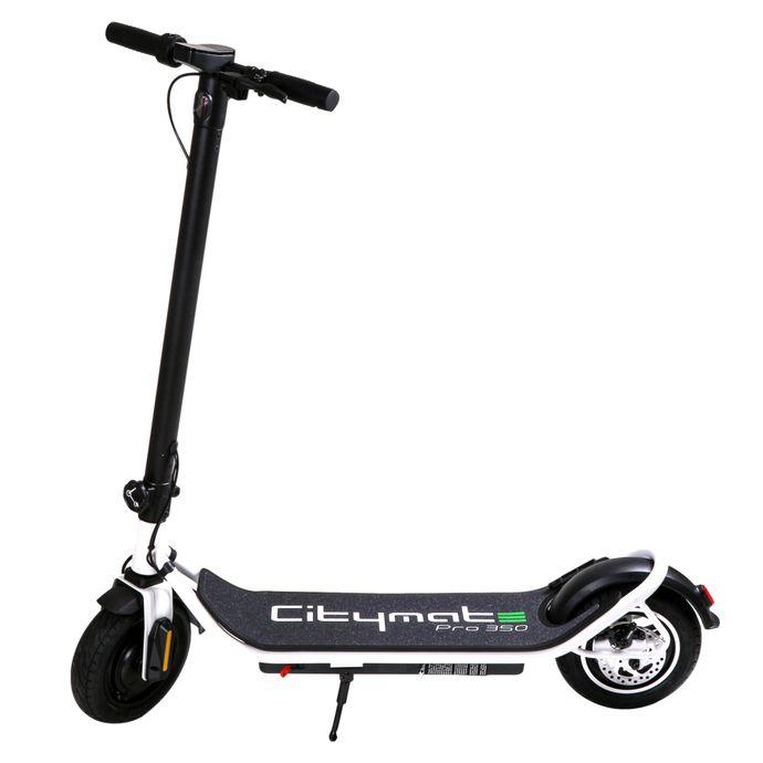 Citymate Pro 350Watt Elektrikli Scooter 10 inch Şişme Teker Beyaz