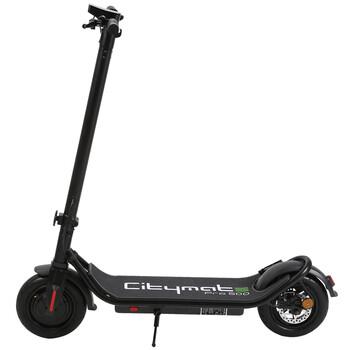Citymate Pro 500 Watt Elektrikli Scooter 10 inch Şişme Teker Bluetooth Siyah - Thumbnail