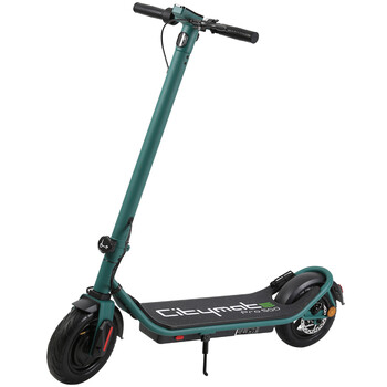 Citymate - Citymate Pro 500 Watt Elektrikli Scooter 10 inch Şişme Teker Bluetooth Yesil