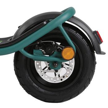 Citymate Pro 500 Watt Elektrikli Scooter 10 inch Şişme Teker Bluetooth Yesil - Thumbnail