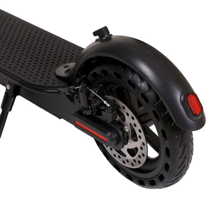 Citymate Urban 350Watt Elektrikli Scooter 8.5 inch Dolgu Teker Siyah