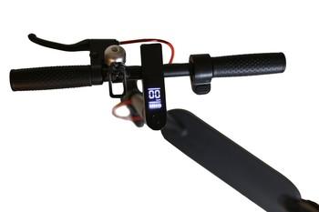 Citymate Urban 350Watt Elektrikli Scooter 8.5 inch Dolgu Teker Siyah - Thumbnail
