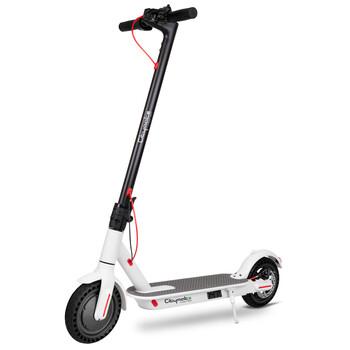 Citymate - Citymate Urban 350Watt Elektrikli Scooter 8.5 inch Dolgu Teker Beyaz