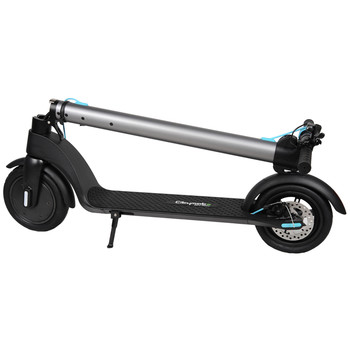 Citymate X7 350Watt Elektrikli Scooter Dublex Sisme Teker Gumus - Thumbnail