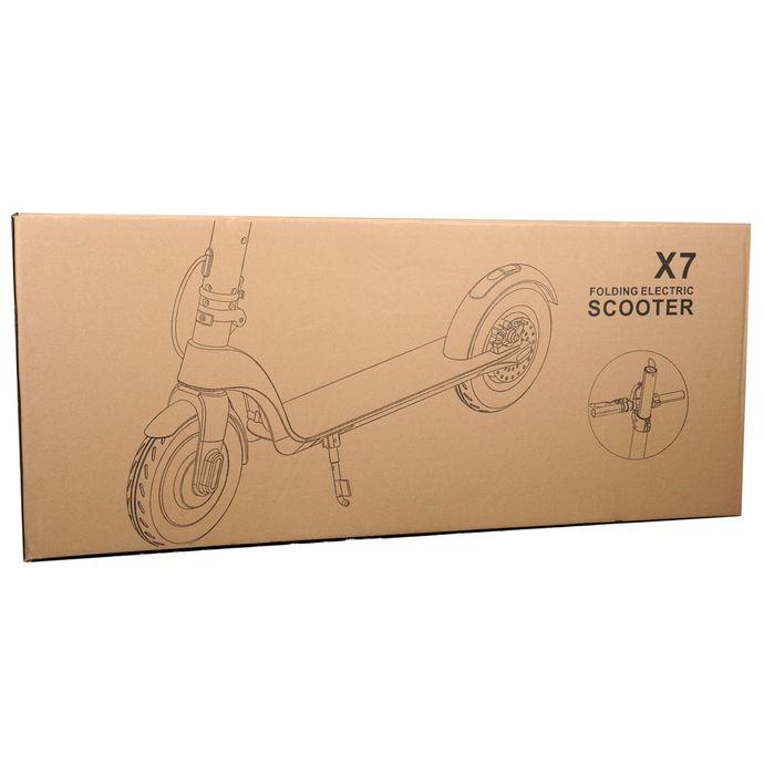 Citymate X7 350Watt Elektrikli Scooter Dublex SiSme Teker Siyah