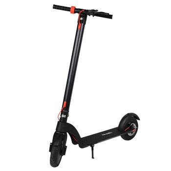 Citymate - Citymate X7 350Watt Elektrikli Scooter Dublex SiSme Teker Siyah