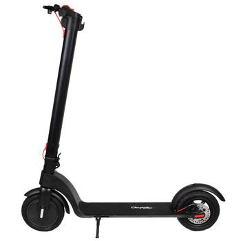 Citymate X7 350Watt Elektrikli Scooter Dublex SiSme Teker Siyah - Thumbnail