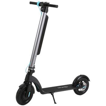 Citymate - Citymate X8 Sonic 350 Watt Elektrikli Scooter Sisme Teker Gümüs