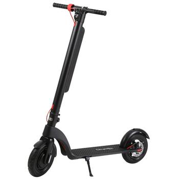 Citymate - Citymate X8 Sonic 350 Watt Elektrikli Scooter Sisme Teker Siyah