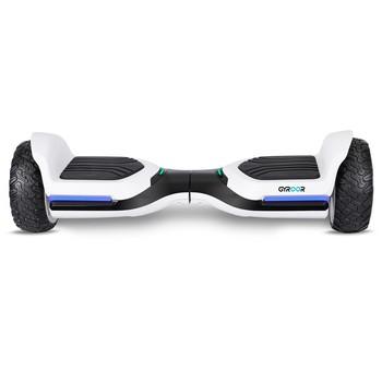 Gyroor Swift G1 Elektrikli Kaykay Off Road Hoverboard 6.5 inch Ledli Teker Beyaz - Thumbnail