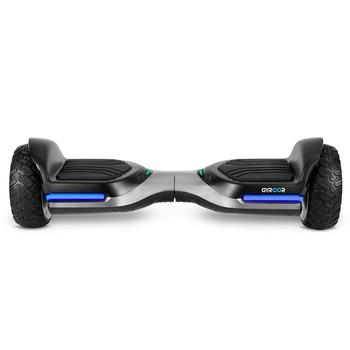 Gyroor Swift G1 Elektrikli Kaykay Off Road Hoverboard 6.5 İnch Ledli Teker Gümüş - Thumbnail