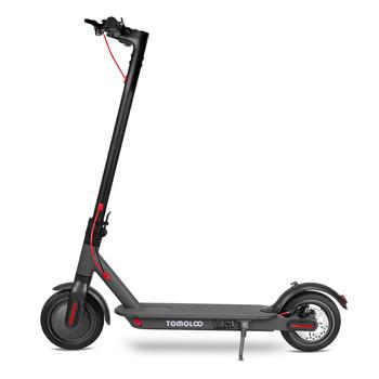 Tomolco H7 250Watt Elektrikli Scooter 8.5 inch Sisme Teker Siyah - Thumbnail