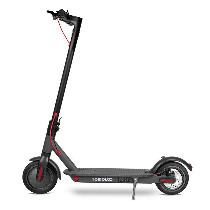 Tomolco H7 250Watt Elektrikli Scooter 8.5 inch Sisme Teker Siyah