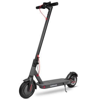 Tomolco - Tomolco H7 250Watt Elektrikli Scooter 8.5 inch Sisme Teker Siyah