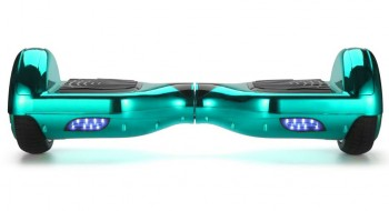 Smart Balance - Smart Balance N3P Elektrikli Kaykay Hoverboard 6.5 İnch Parlak Kasa Su Yeşili
