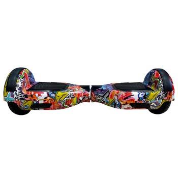 Smart Balance - Smart Balance N3S Elektrikli Kaykay Hoverboard 6.5 inch Grafity Desenli Kasa 12