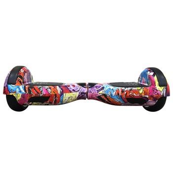Smart Balance - Smart Balance N3S Elektrikli Kaykay Hoverboard 6.5 inch Grafity Desenli Kasa 18