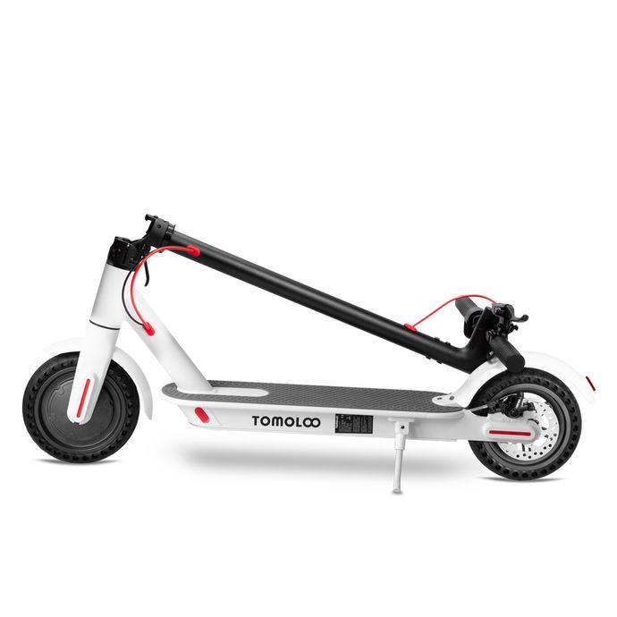 Tomolco H7 250Watt Elektrikli Scooter 8.5 inch Dolgu Teker Beyaz