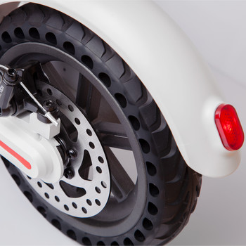 Tomolco H7 250Watt Elektrikli Scooter 8.5 inch Dolgu Teker Beyaz - Thumbnail