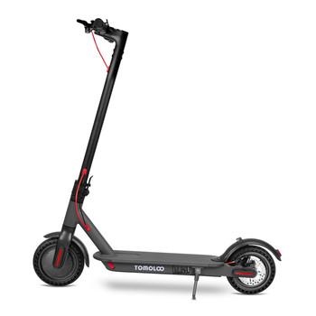 Tomolco H7 250Watt Elektrikli Scooter 8.5 inch Dolgu Teker Siyah - Thumbnail