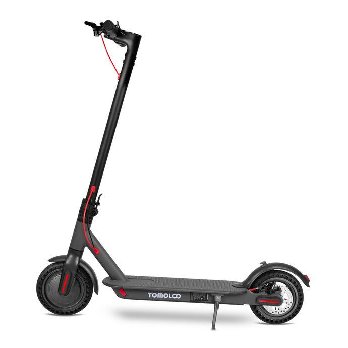 Tomolco H7 250Watt Elektrikli Scooter 8.5 inch Dolgu Teker Siyah