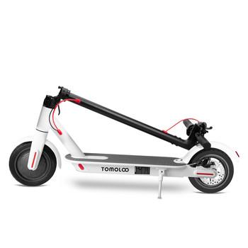 Tomolco H7 250Watt Elektrikli Scooter 8.5 inch Sisme Teker Beyaz - Thumbnail